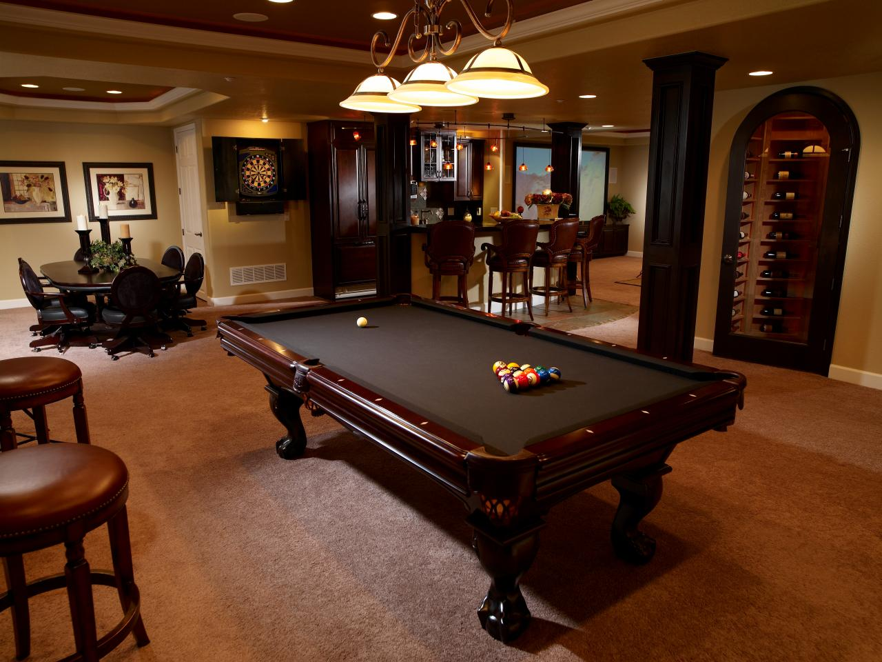 Basement Wine Cellar Tri County General Contracting Home Remodeler