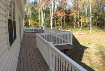 Hardwood floors, decks, and more.