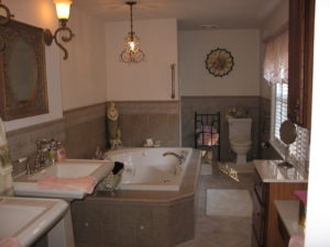Custom Tile Jacuzzi Tub