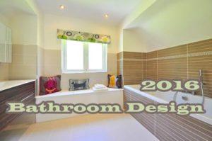 2016 Bathroom Designs