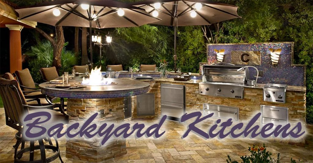 backyard kitchen | tri-county general contracting • make your