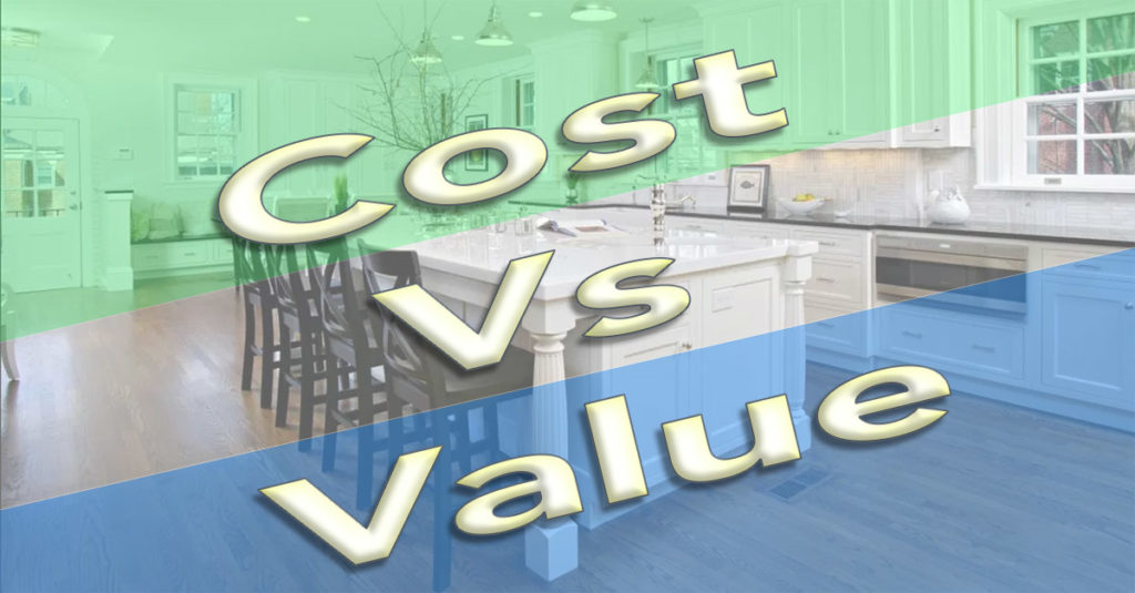 Home Remodeling Cost Vs Value