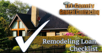 Home Remodeling Loan Checklist