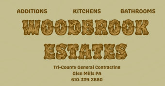 Woodbrook Estates Contractor Glen Mills PA